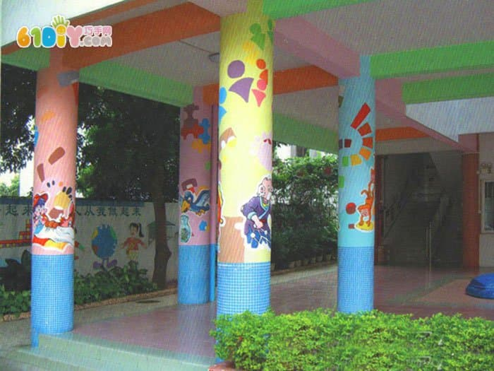 门面柱子装饰效果图_装修效果图