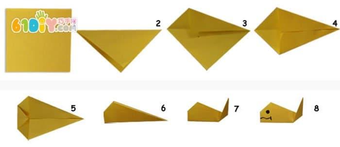 鱼折纸 图片