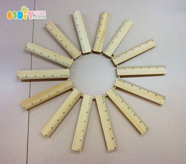 教师节装饰花环手工制作