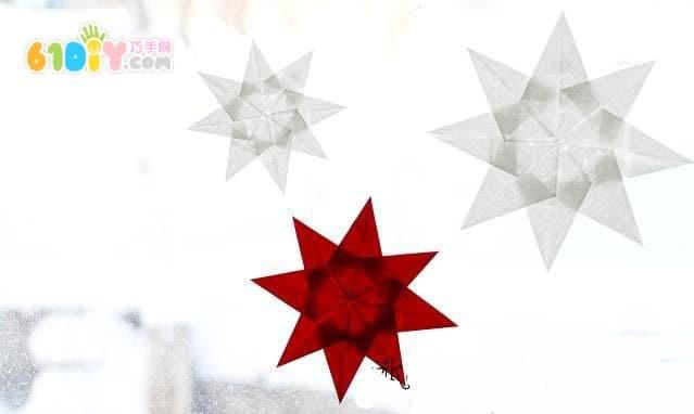 窗飾星星製作教程
