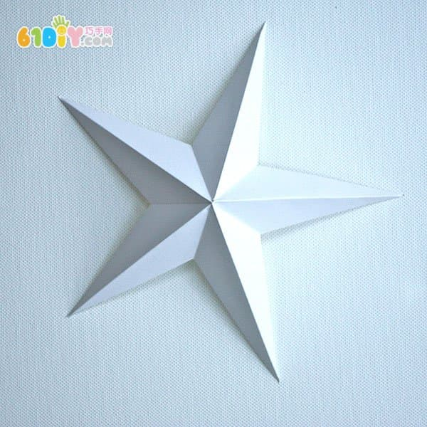 聖誕節裝飾 立體五角星手工