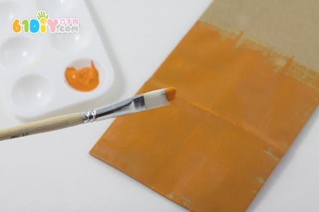 幼儿园手工纸袋万圣节