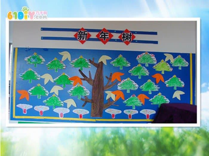 幼儿园新年吊饰和墙饰_新年春节_巧巧手幼儿手工网