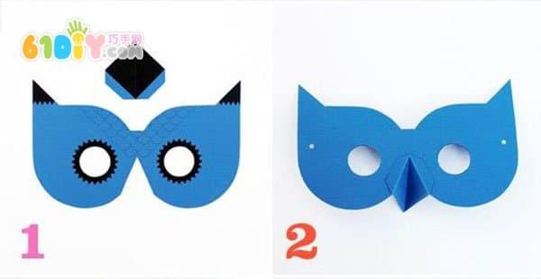 手工面具制作步骤图片