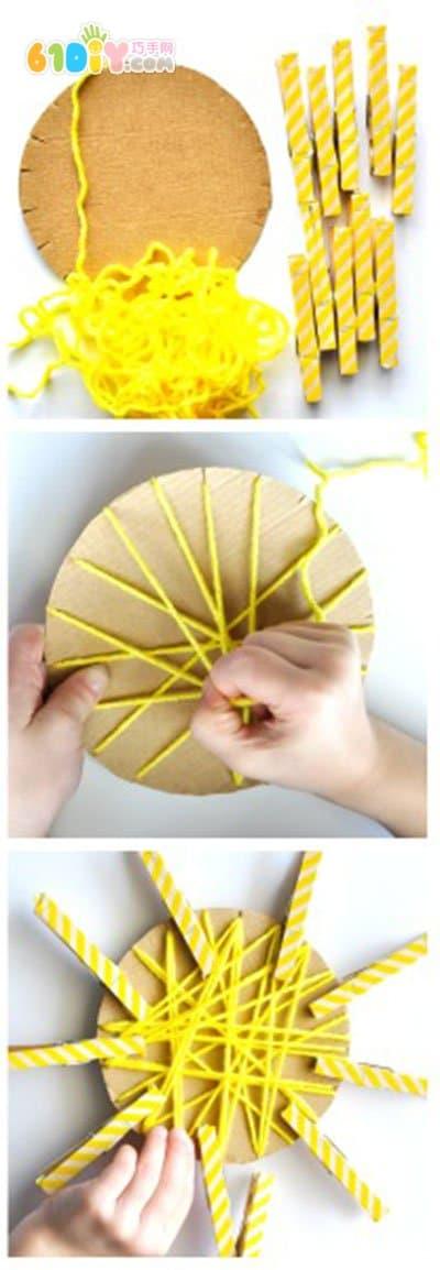 幼儿手工:儿童手工制作太阳