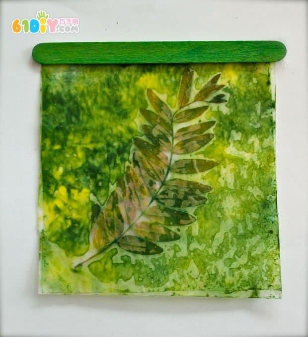 儿童手工制作创意炫彩艺术画