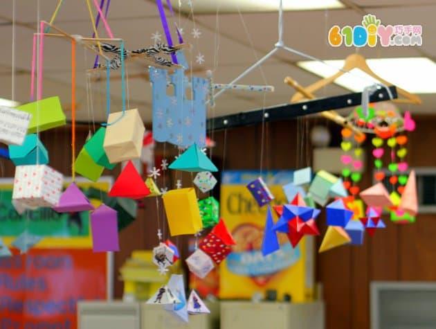 好看的幼儿园吊饰环创 吊饰 巧巧手幼儿手工网