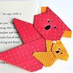 可爱的母子考拉熊折纸