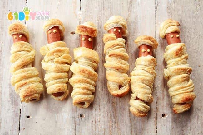 可爱的万圣节怪物美食DIY