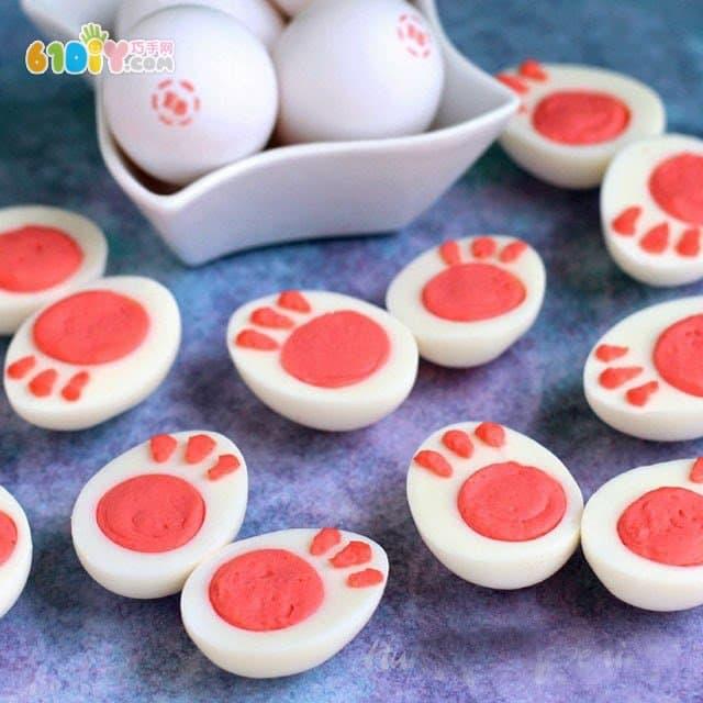 亲子美食DIY 鸡蛋的趣味造型