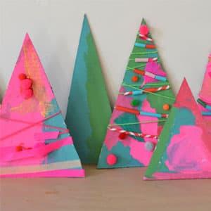 纸箱手工制作 树