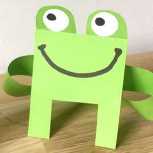 纸折青蛙手工制作